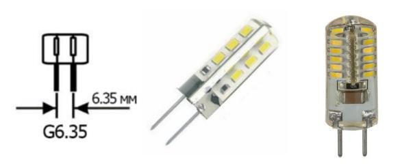Лампы с цоколем G6.35