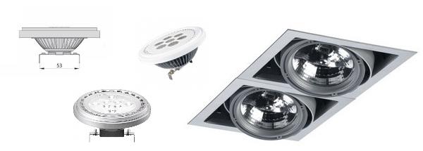 Лампы с цоколем G53