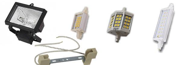 Лампы с цоколями R7s