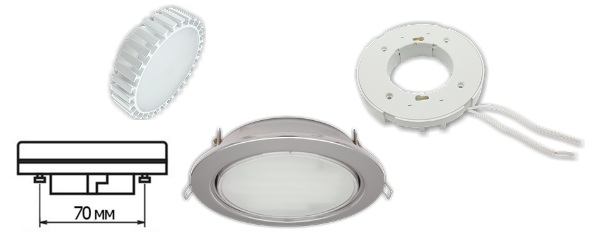 Лампы с цоколем GX70