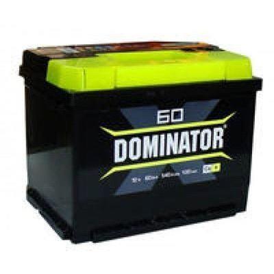"""Аккумулятор 60 """"Dominator"""" обратная полярность"""