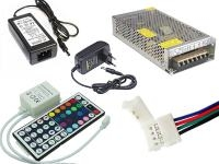 Блоки питания, контроллеры, комплектующие
